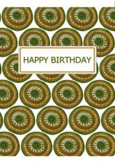 Orange and Green Chakra birthday