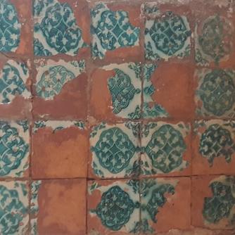 Goan Church Tiles Rosso Art Company